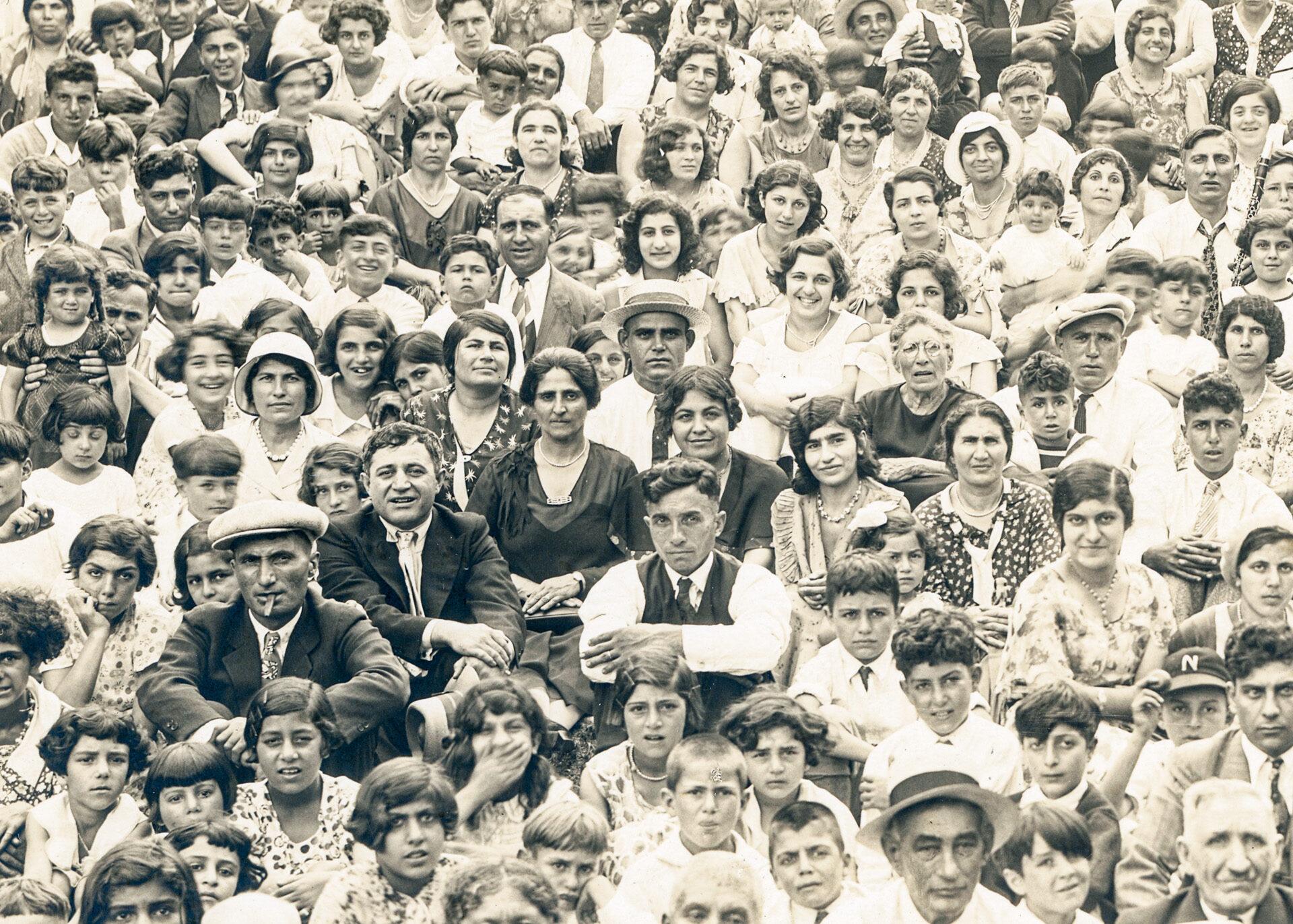 'The Armenians of Whitinsville' projesi sitesinden tarihsel bir fotoğraf