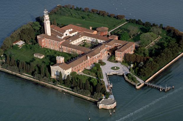 Venedik Bienali mekanı San Lazzaro Adası