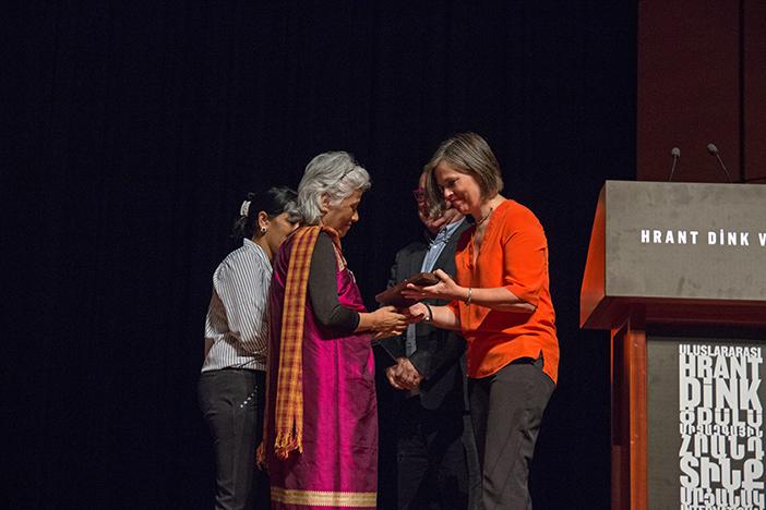 Agnes Kharshiing (solda)  (FOTO: İşhan Erdinç)