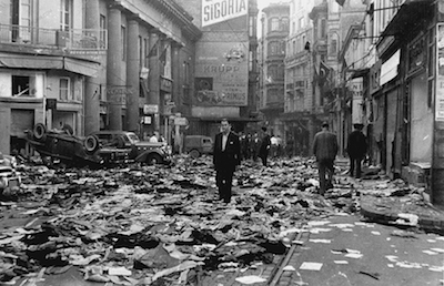 6-7 Eylül sonrası İstiklal Caddesi