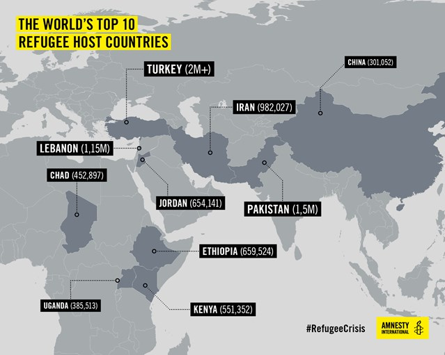 Amnesty International: selfishness of rich countries making the crisis even worse