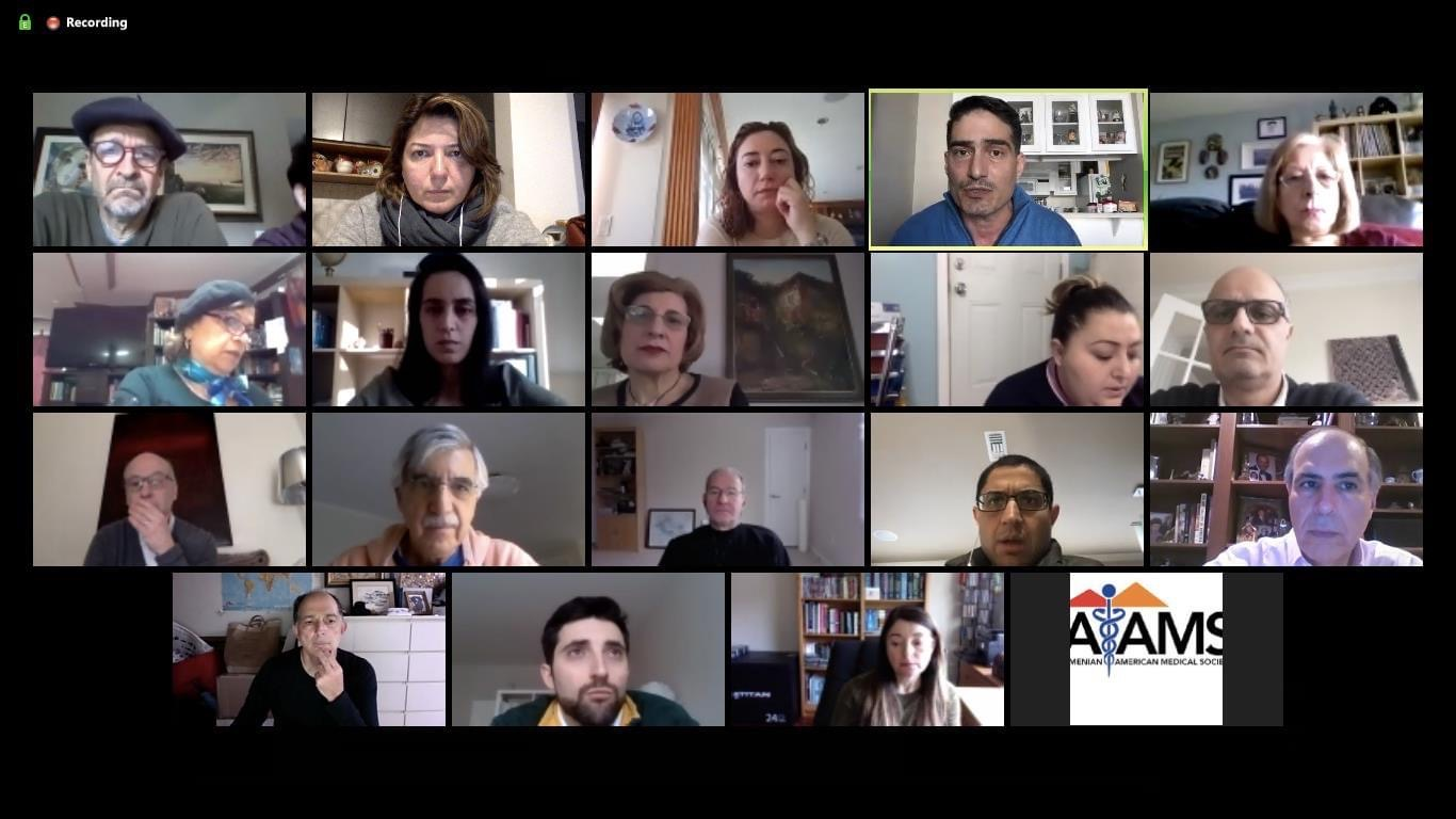Trans-regional covid-19  solidarity and collaboration by Armenian physicians