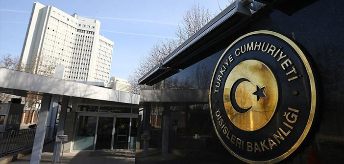 Turkish Ministry of Foreign Affairs denied the claims of agreement