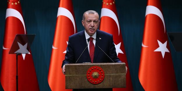 Erdoğan'dan 1915 için taziye mesajı