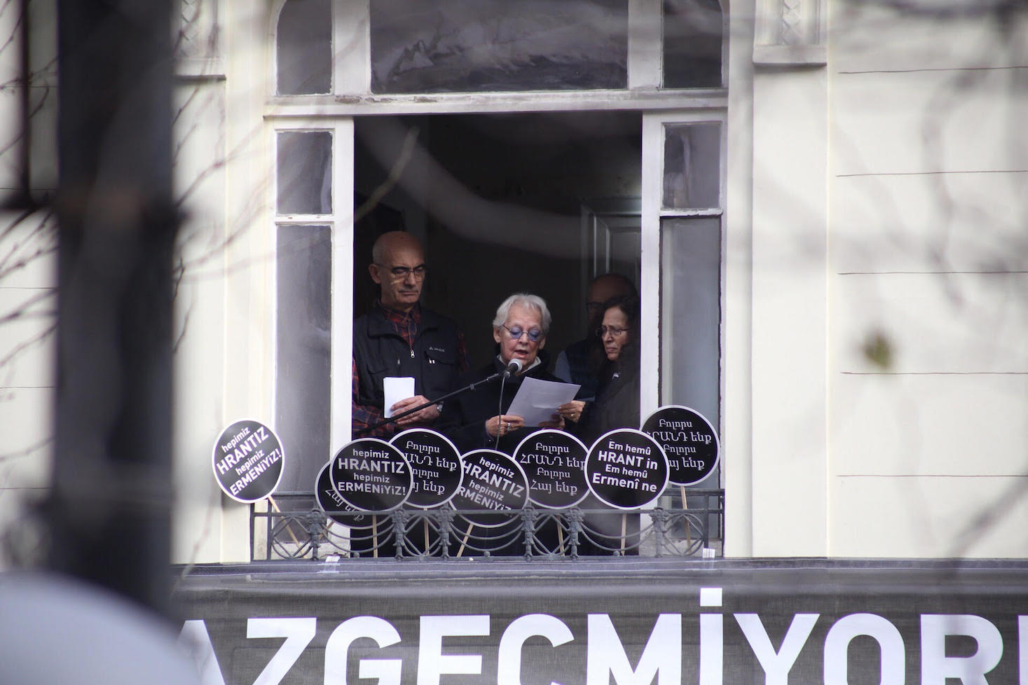 Filiz Ali speaks at Hrant Dink's anniversary: