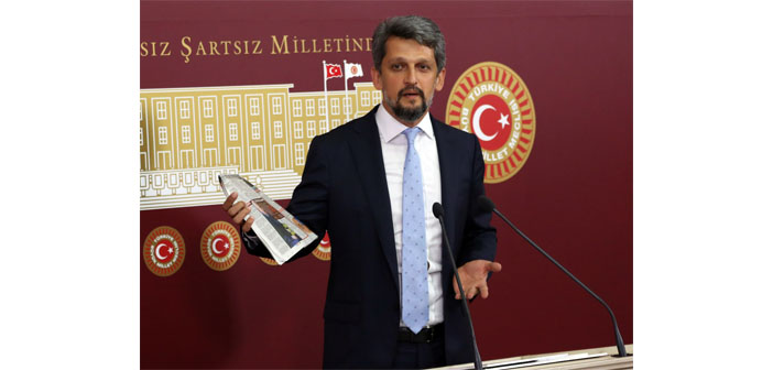 Press release by Garo Paylan on his being targeted