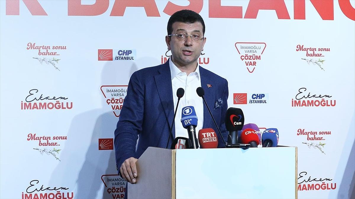 İmamoğlu: İstanbul'un kaderiyle oynamayın