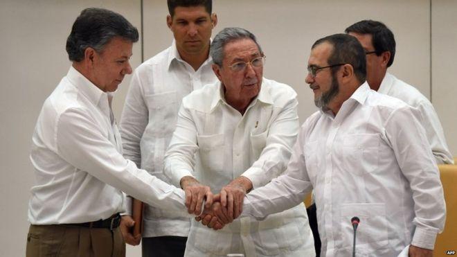 Kolombiya'da 6 ay içinde barış