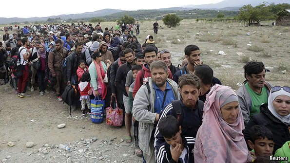 Avrupa sığınmacılar için