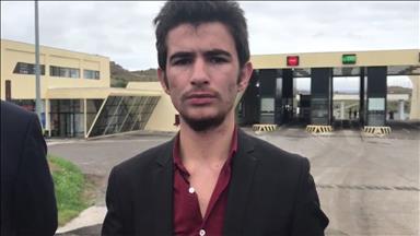 Ermenistan sınırını geçtiği için tutuklanan genç Türkiye'ye döndü