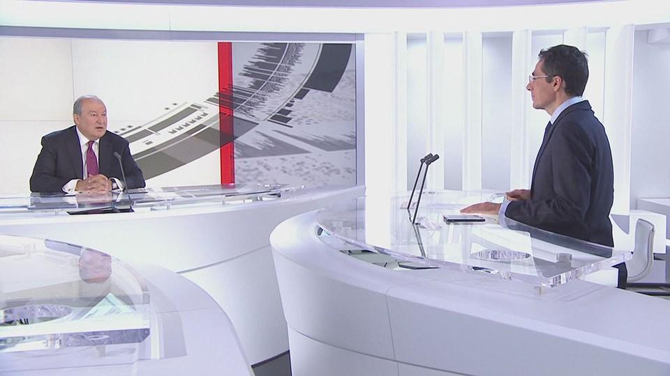 Sarkisyan Erdoğan'a nasıl seslendi?