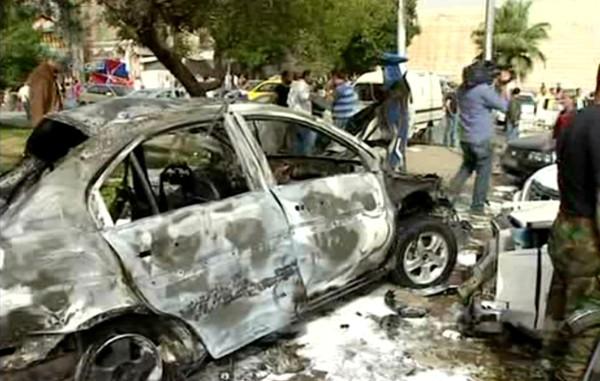 Şam'daki Hıristiyan mahallesinde patlama