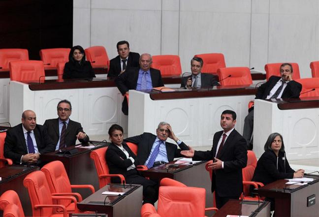 BDP'nin Meclis'teki eylemi
