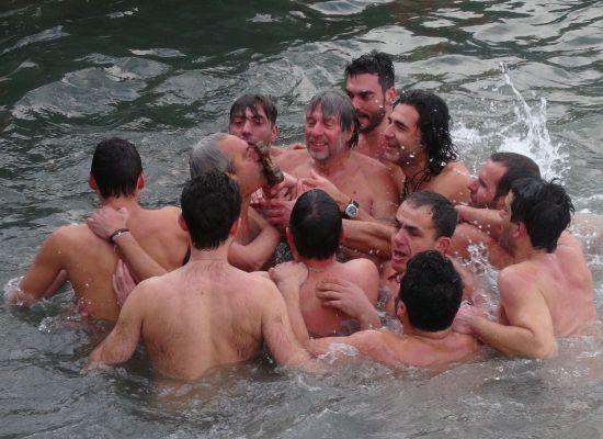 Fener'de Mesih İsa'nın vaftizi kutlandı