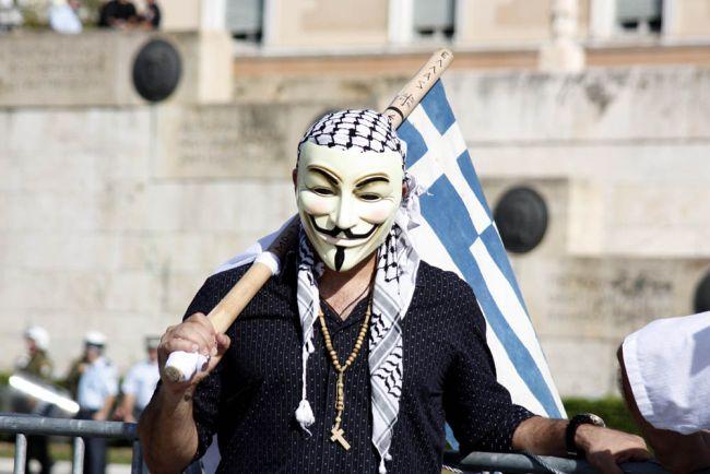 Yunanistan'da ekonomik kriz nedeniyle sık sık protesto gösterileri düzenleniyor