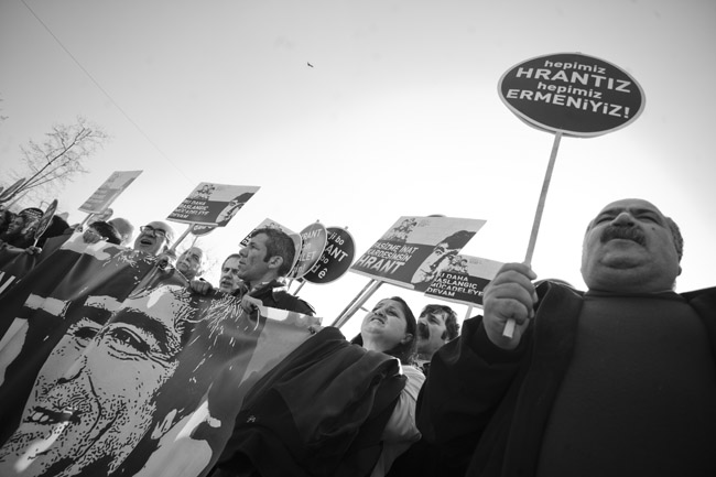 19 Ocak 2014 Hrant Dink anması