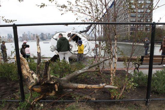 Sandy New York'u yıkıp geçti