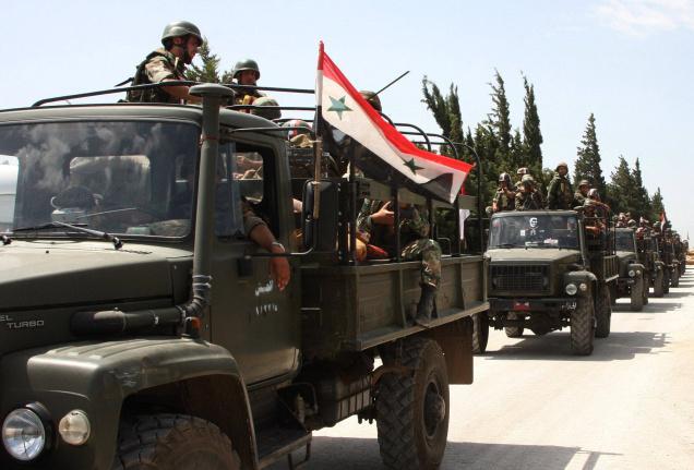 Esad'a bağlı orduların çekilmeye başladığı belirtiliyor