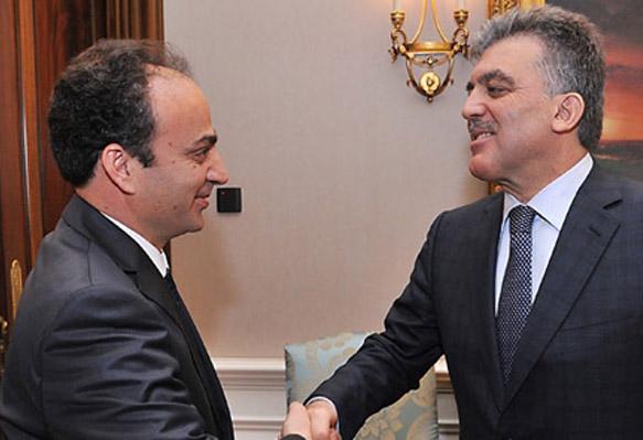 Baydemir Cumhurbaşkanı'yla görüştü