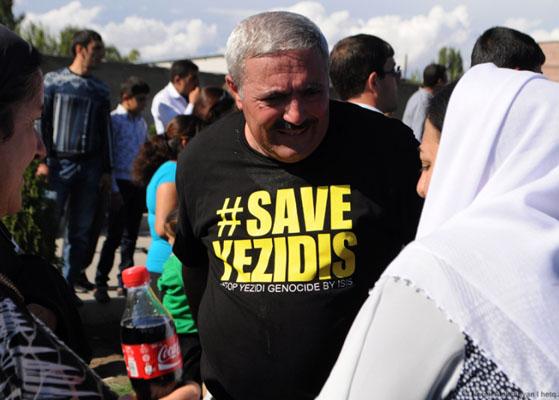 Ezidilerin çığlığı Ermenistan'da yankılanıyor