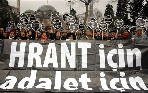 Hrant'ın Arkadaşları yine adalet nöbetindeydi