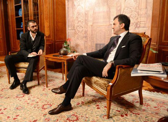 Bakan Ömer Çelik: Diasporayla daha çok konuşmalıyız