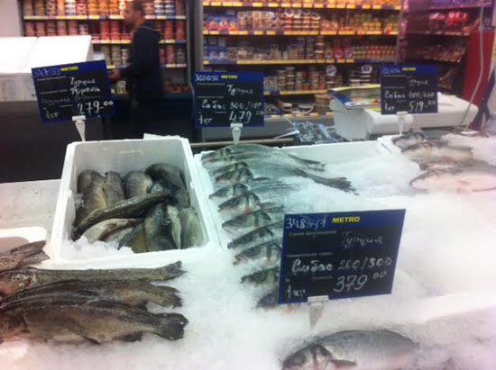 Ambargo nedeniyle Ermenistan ve Türkiye balıkları tezgahta bir arada