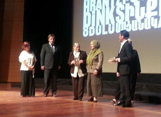 Hrant Dink Ödülü Cumartesi Anneleri ve Nataša Kandić'e gitti