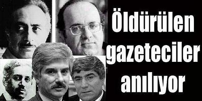 103 yılda 112 gazeteci ve yazar öldürüldü