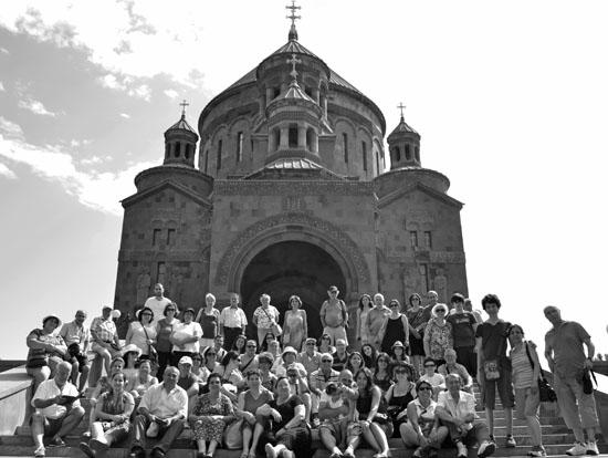 Sivaslı Ermenilerle köşe bucak Ermenistan