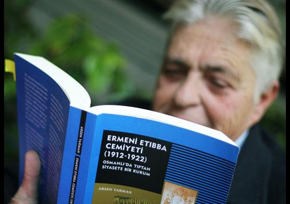 'Bu kitabı I. Dünya Savaşı'nda görünmeyen Ermeni emeğini anlatmak için yazdım'