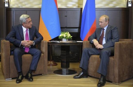 Rusya Ermenistan'ın Avrasya Birliği'ne üyelik onayını verdi