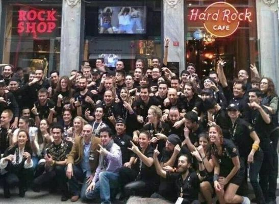 Hard Rock Cafe İstanbul'da