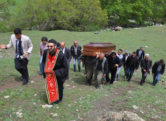 Kato dağında operasyon değil, cenaze töreni vardı