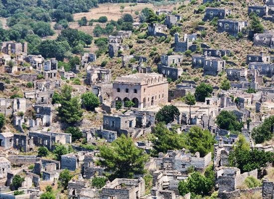 Tarihi Rum köyünde imar tehlikesi