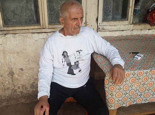 77 yaşındaki Mamikon Khojoyan'ın vücüdunda petrol bulundu