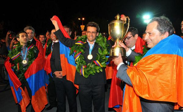Ermenistan dünya şampiyonu