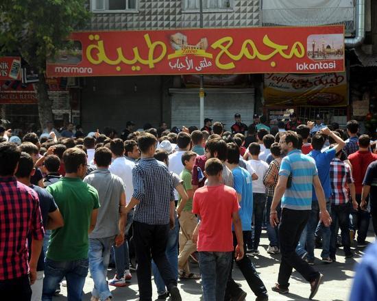 Maraş'ta 'Suriyelileri istemiyoruz' eylemi lince döndü