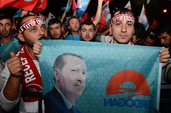 Erdoğan 12. Cumhurbaşkanı oldu