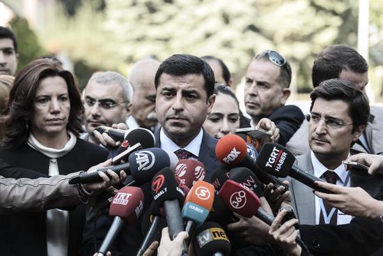 HDP'den Kobane eylemlerine ilişki açıklama