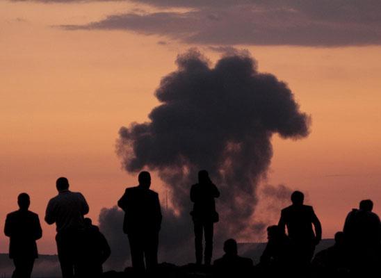 ABD'den Kobane'ye mühimmat desteği