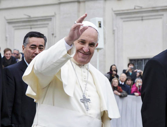 Papa Francis Türkiye yolunda