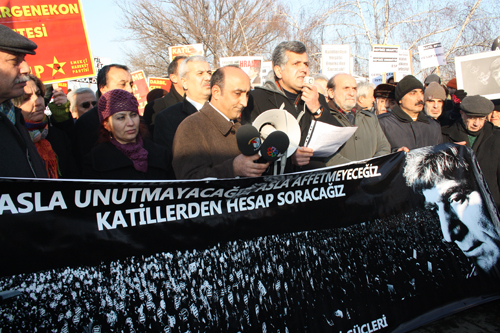 """5. yılında """"Hepimiz Hrant'ız, hepimiz Ermeni'yiz"""""""