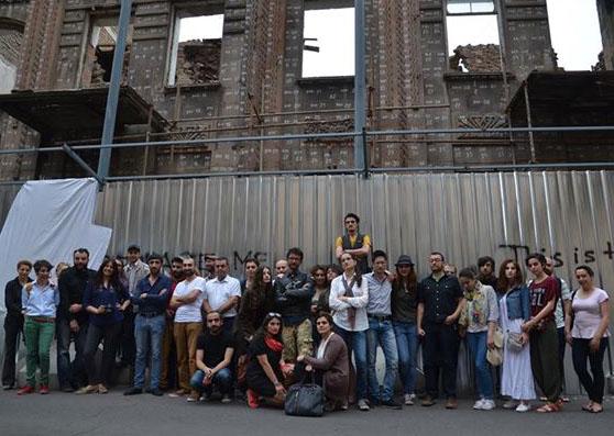 Yerevan'da 'itinayla' silinen tarih