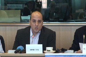 Ahmet Şık Avrupa Parlamentosu'nda konuştu