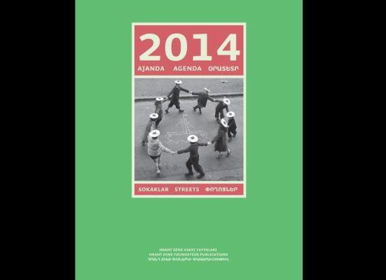 2014 ajandanız Hrant Dink Vakfı'ndan