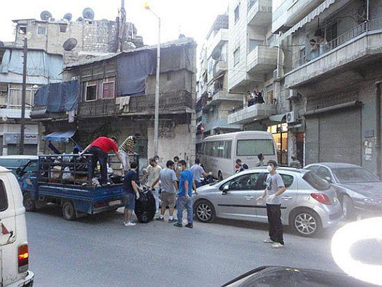 Ermeniler Halep'te savunma grupları kurdular
