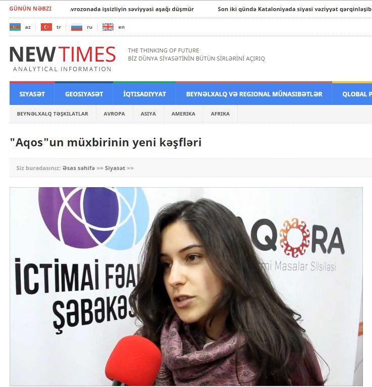 Agos'un Azerbaycanlı muhabirine saldırılar durmak bilmiyor