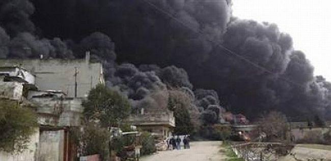Suriye ordusu Humus'a kara saldırısına geçti
