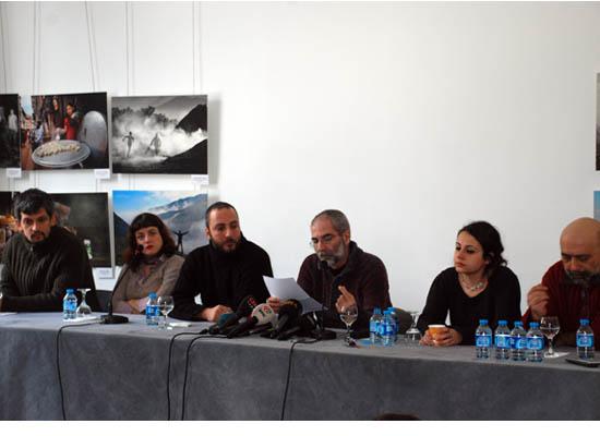 Hrant'ın arkadaşları basın toplantısı düzenledi
